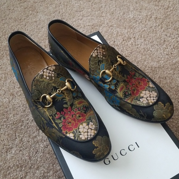 d377565bf89 Gucci Other - Gucci Jordaan Jacquard Loafer